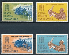 °°° KENIA UGANDA TANZANIA - Y&T N°121/24 - 1963 MNH °°° - Kenia (1963-...)