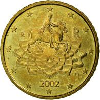 Italie, 50 Euro Cent, 2002, TTB, Laiton, KM:215 - Italie