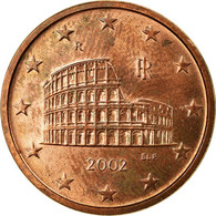 Italie, 5 Euro Cent, 2002, TB+, Copper Plated Steel, KM:212 - Italie