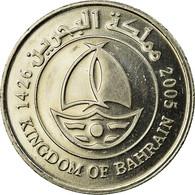 Monnaie, Bahrain, Hamed Bin Isa, 50 Fils, 2005, SUP, Copper-nickel, KM:25 - Bahrein