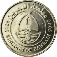 Monnaie, Bahrain, Hamed Bin Isa, 50 Fils, 2005, SUP, Copper-nickel, KM:25 - Bahreïn