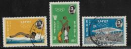 Ethiopia Scott # C82,C85 Used, C83 Mint Hinged Olympics, 1964 - Ethiopia