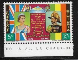 Ethiopia Scott # C86 MNH Queen Elizabeth Visit, 1965 - Ethiopia