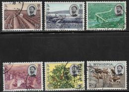 Ethiopia Scott # C89-94 Used Various Designs, 1965 - Ethiopia