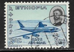 Ethiopia Scott # C96 Used Jet Plane, 1965 - Ethiopia