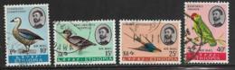 Ethiopia Scott # C107-8,C110-1 Used Birds, 1967 - Ethiopia