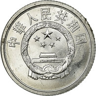 Monnaie, CHINA, PEOPLE'S REPUBLIC, Fen, 1991, TTB, Aluminium, KM:1 - Chine