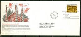 Totems. -- Indiens, Côte Du Pacifique / Indians, Pacific Coast.-- Timbre Scott Stamp # 570. (1842) - Premiers Jours (FDC)