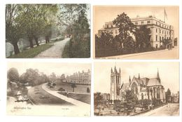 FOUR POSTCARDS OF LEAMINGTON SPA WARWICKSHIRE - Other