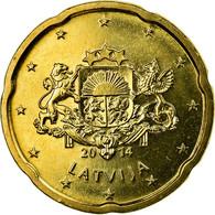 Latvia, 20 Euro Cent, 2014, SUP, Laiton, KM:154 - Lettonie