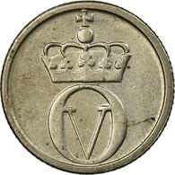 Monnaie, Norvège, Olav V, 10 Öre, 1966, SUP, Copper-nickel, KM:411 - Norvège