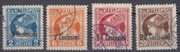 AUSTRIA-OCCUPAZIONE IN ITALIA - 1918 - Per Giornali - Serie Completa Composta Da 4 Valori Usati: Yvert 23/26. - Zeitungsmarken