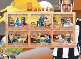 Guinea  2008  Famous Football Players  ,soccer - Guinée (1958-...)