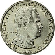 Monnaie, Monaco, Rainier III, Franc, 1986, SUP, Nickel, KM:140 - 1960-2001 Nouveaux Francs