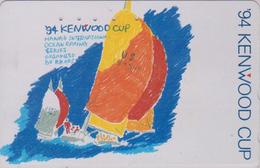 Télécarte Japon / 110-011 - HAWAII - KENWOOD CUP - BATEAU VOILIER - Sailing SHIP Japan Sport Phonecard - Site USA 475 - Boats