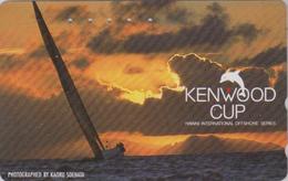 Télécarte Japon / 110-016 - HAWAII - KENWOOD CUP - BATEAU VOILIER - Sailing SHIP Japan Sport Phonecard - Site USA 477 - Boats