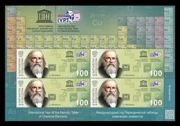Kyrgyzstan (KEP) 2019 Mih. 128 Chemistry. International Year Of The Periodic Table. Dmitri Mendeleev (M/S) MNH ** - Kyrgyzstan