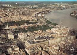 Bordeaux Vue Generale Du Centre Ville Avec Le Grand Theatre La Place Des Quinconces Le Port Sur La Garonne   CPM Ou CPSM - Bordeaux