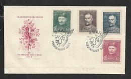 Czechoslovakia, 1948,  FDC, Sokol Congress, Unaddressed - FDC