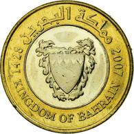 Monnaie, Bahrain, Hamed Bin Isa, 100 Fils, 2007, SUP, Bi-Metallic, KM:26 - Bahrain