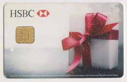 Singapore Cash Card HSBC Bank Chip Used Cashcard - Autres Collections