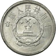 Monnaie, CHINA, PEOPLE'S REPUBLIC, 2 Fen, 1989, TTB, Aluminium, KM:2 - Chine