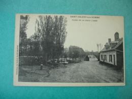 Saint Valery Sur Somme Place Croix L Abbe - Saint Valery Sur Somme