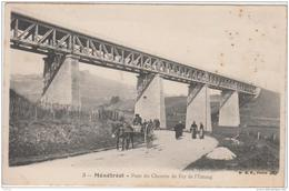 MENETREOL PONT DU CHEMIN DE FER DE L'ESTANG 1906 TBE - France