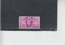 GRAN BRETAGNA  1948 - Unificato  243 - Olimpiadi Londra - Usati