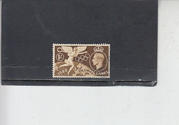 GRAN BRETAGNA  1948 - Unificato  244 - Olimpiadi Londra - Usati