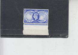 GRAN BRETAGNA  1949 - Unificato  246 - UPU - Usati
