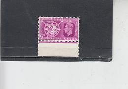 GRAN BRETAGNA  1949 - Unificato  248 - UPU - Usati
