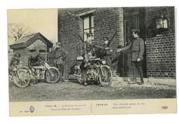 CPA GUERRE L'ARMEE ANGLAISE DANS LE PAS DE CALAIS MOTOS - Guerre 1914-18