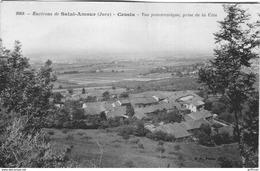 ENVIRONS DE SAINT AMOUR CESSIA VUE PANORAMIQUE PRISE DE LA COTE 1911 - Frankrijk