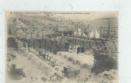 """Timgad (Algérie) :Représentation De La Pièce """"Electre"""" Par La Troupe  Silvain Dans Le Théatre Romain En 1910 (animée) PF - Algeria"""
