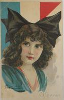 """""""Frauen, Mode, Frankreich Fahne"""" 1918, MC Herubini, Gl Psazia ♥  - 1900-1949"""