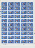 Faciale 21.35 Eur ; Feuille De 50 Tbs à 2.80 Fr N° 2965 (cote 65 Euros) - Feuilles Complètes