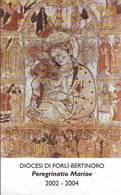 Peregrinatio Mariae 2002-2004 Forlì, Santino Con Preghiera - Religione & Esoterismo