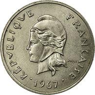 Monnaie, French Polynesia, 10 Francs, 1967, TTB+, Nickel, KM:5 - Frans-Polynesië