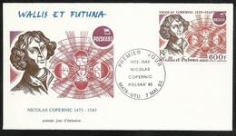 W. Et F. Lettre Illustrée Premier Jour Mata-Utu Le 07/05/1993 P.A. N° 177 Nicolas Copernic 1473-1543 Expo Polska'93  TB - Astronomy