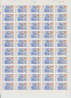 Faciale 21.35 Eur ; Feuille De 50 Tbs à 2.80 Fr N° 2953 (cote 65 Euros) - Feuilles Complètes