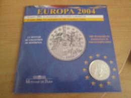 """PIECE EN ARGENT 90% 1/4€ EUROPA 2004 B.U. MONNAIE DE PARIS """"AGRANDISSEMENT DE LA CEE"""" LU-G91 - France"""