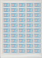 Faciale 21.35 Eur ; Feuille De 50 Tbs à 2.80 Fr N° 2936 (cote 65 Euros) - Full Sheets