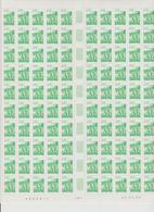 Faciale 36.60 Eur ; Feuille De 100 Tbs à 2.40 Fr N° 2949 (cote 110 Euros) - Feuilles Complètes