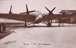 AVION /// JUNKERS G.38 -40 PASSAGERS - Avions
