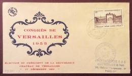 PS211-1 Versailles 939 Congrès Du Parlement 17/12/1953 Élection Président De La République - 1921-1960: Période Moderne