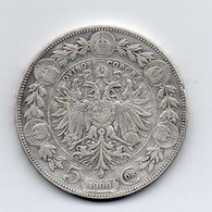 Austria - 1900 - 5 Corone - Francesco Giuseppe - Argento - (MW2177) - Austria