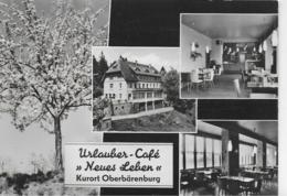 """AK 0213  Oberbärenburg - Urlauber-Cafe """" Neues Leben """" / Ostalgie , DDR Um 1966 - Altenberg"""