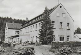 "AK 0213  Grünbach ( Vogtland ) - FDGB Erholungsheim "" Louis Müller "" / Ostalgie , DDR Um 1975 - Falkenstein (Vogtland)"