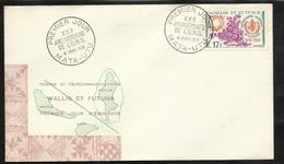 W. Et F. Lettre Illustrée Premier Jour Mata-Utu Le 04/05/1968  N°172 Organisation Mondiale De La Santé XXVème Ann.  TB - Covers & Documents